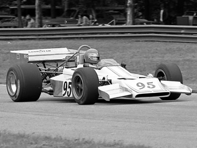 Rodney Green in Lotus 70/01 at Mid-Ohio at the start of the 1974 season. Copyright Mark Windecker  2005. Used with permission.