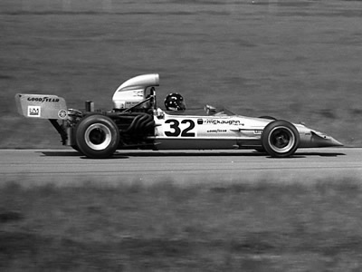 Harry Ingle's ex-Lader McLaren M22 at Michigan in 1973. Copyright Mark Windecker 2005. Used with permission.