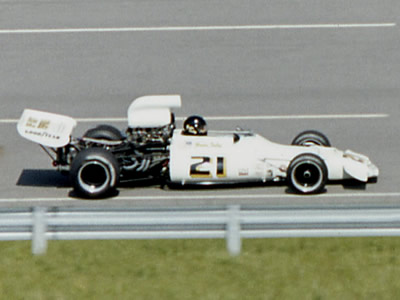 Gordon Smiley in Josef Scott's GM1 at Michigan in 1973. Copyright Mark Windecker  2005. Used with permission.