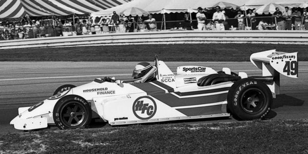 Calvin Fish in his HFC Racing Ralt RT4/87 at Road America in 1987.  Copyright Mark Windecker 2014.  Used with permission.
