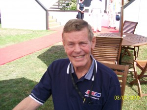 Bobby Unser 3rd July 2010 at the Goodwood Festival of Speed